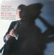 English Chamber Orchestra , Richard Stoltzman - Mozart Clarinet Concerto, K. 622, Concerto For Bassoon, K, 191 (Arranged For Clarinet)