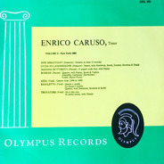 Enrico Caruso - Enrico Caruso, Tenor - Vol. 5 -New York 1908