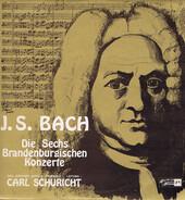 Ensemble Baroque De Zurich Conducted By Carl Schuricht / Johann Sebastian Bach - Die Sechs Brandenburgischen Konzerte