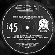 Eon - What Is Music / Spice (Juan Atkins Mix)