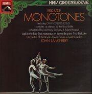 Erik Satie - Monotones, John Lanchbery