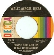 Ernest Tubb And His Texas Troubadours - Waltz Across Texas
