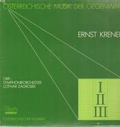 Ernst Krenek - Symphonies I II III