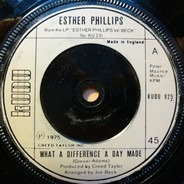 Esther Phillips - What A Diff'rence A Day Makes / Turn Around, Look At Me