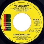 Esther Phillips - What a Diff'rence a Day Makes