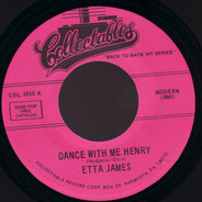 Etta James / Marvin & Johnny - Dance With Me Henry / Cherry Pie