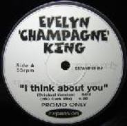 Evelyn 'Champagne' King - I Think About You / Shame
