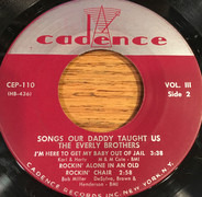 Everly Brothers - Songs Our Daddy Taught Us Volume 3