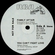 Family Affair - You Can't Fight The Love / Lovey Love