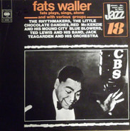 Fats Waller - Fats Plays, Sings, Alone & With Various Groups