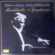 Mendelssohn - 5 Symphonien (karajan)
