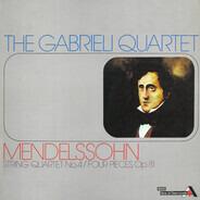 Mendelssohn-Bartholdy - String Quartet No. 4, Op. 44 No.2. Four Pieces. Op. 81