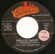 Five Stairsteps - World Of Fantasy / Come Back