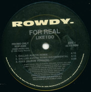 For Real - Like I Do (Remixes)