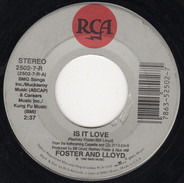 Foster And Lloyd - Is It Love