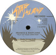 Franco & Maryjane - Play At Your Own Risk