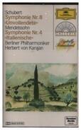 "Franz Schubert / Felix Mendelssohn-Bartholdy - Symphonie Nr. 8 ""Unvollendete"" / Symphonie Nr. 4 ""Italienische"""