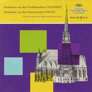 Franz Schubert / Joseph Haydn ; Koeckert-Quartett , Adrian Aeschbacher - Variationen Aus Dem Forellenquintett / Variationen Aus Dem Kaiserquartett