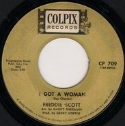 Freddie Scott - I Got A Woman / Brand New World