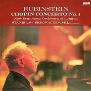 Frédéric Chopin , Arthur Rubinstein , The New Symphony Orchestra Of London , Stanislaw Skrowaczewski - Concerto No. 1