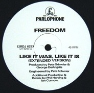 Freedom - Like It Was Like It Is