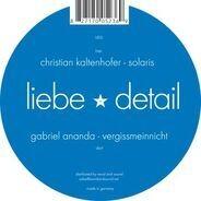 Gabriel Ananda / Christian Kaltenhofer - Vergissmeinnicht / Solaris