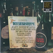 Gaetano Donizetti - Der Liebestrank - L'Elisir D'Amore - Arien Und Szenen