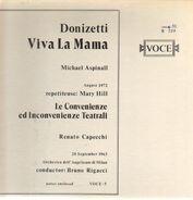 Gaetano Donizetti - Viva La Mama - Le Convenienze Ed Inconvenienze Teatrali