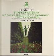Gaetano Donizetti - Fünf Ouvertüren