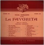 Gaetano Donizetti - Vocal Highlights From La Favorita