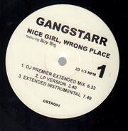 Gang Starr - Nice Girl, Wrong Place / Same Team, No Games
