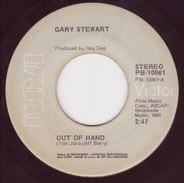 Gary Stewart - Out Of Hand / Draggin' Shackles