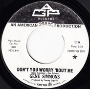 Gene Simmons - Don't Worry About Me / Back Home Again
