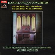Georg Friedrich Händel , Simon Preston , Menuhin Festival Orchestra , Yehudi Menuhin , Valda Aveling - Handel Organ Concertos Vol. 3