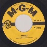 George Russell And His Orchestra - Sahara/Twenty-Three Degrees North, Eighty-Two Degrees West
