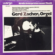 Gerd Zacher - Orgel