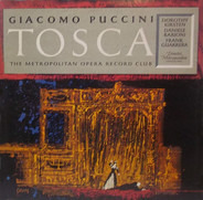 Giacomo Puccini , Dorothy Kirsten , Daniele Barioni , Frank Guarrera , Dimitri Mitropoulos , The Me - Tosca