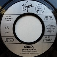 Gina X - Drive My Car