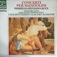 Paisiello / Lecce / Giuliani - Concerti Per Mandolini