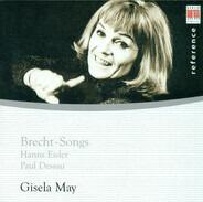 Gisela May , Hanns Eisler , Paul Dessau - Brecht-Songs