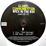 Global Communication - Back In The Box (Sampler 03)
