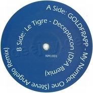 Goldfrapp / Le Tigre - My Number One / Deceptacon