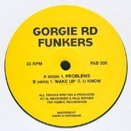 Gorgie Rd Funkers - Problems EP