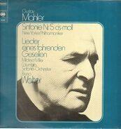 Gustav Mahler / The New York Philharmonic Orchestra , Mildred Miller , Orquesta Sinfónica Columbia - Sinfonie Nr. 5 Cis-Moll / Lieder Eines Fahrenden Gesellen