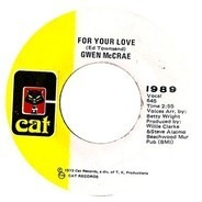 Gwen McCrae - For Your Love / Your Love