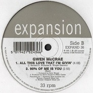 Gwen McCrae - I Can Only Think Of You / 90% Of Me Is You & All This Love I'm Giving