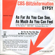 Gypsy - As Far As You Can See, As Much As You Can Feel