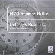 H2O Featuring Billie - Nobody's Business (Original / Sharp / Deep Zone Mixes)