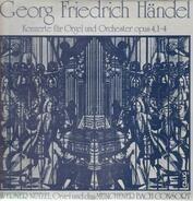Händel - Konzerte für Orgel und Orchester opus 4,1-4