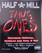 Half-A-Mill - Thug Ones